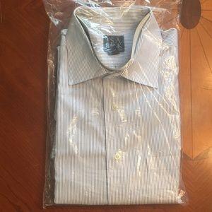 Jos. A. Bank Striped Traveler Dress Shirt